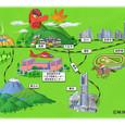 東京医療センターイメージマップ